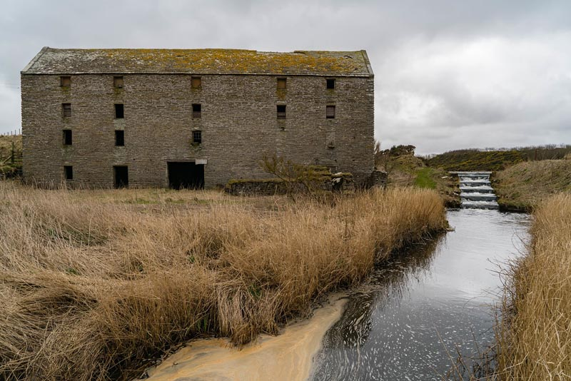 old abandoned mill scotland
