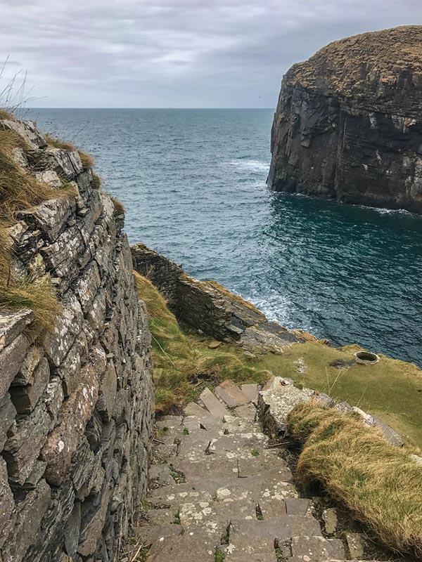 whalegoe steps scotland