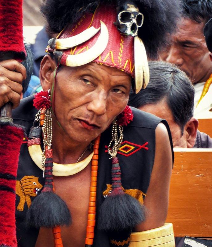 northeast India headhunter man