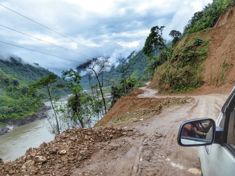 north east india roads