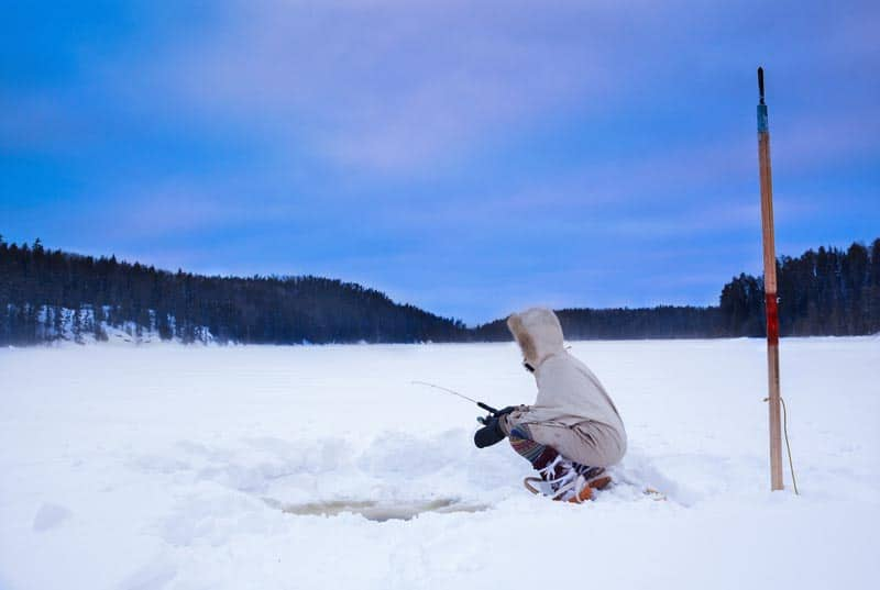 things to do in canada in winter - ice fishing northern ontario