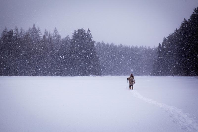 winter in ontario's north