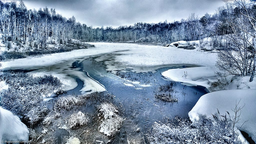 northern ontario winter trek