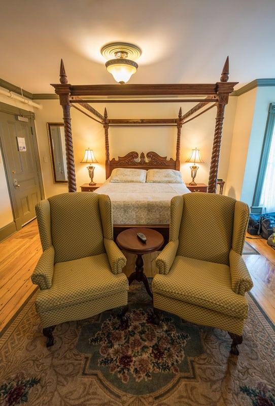 nova scotia accommodation bed