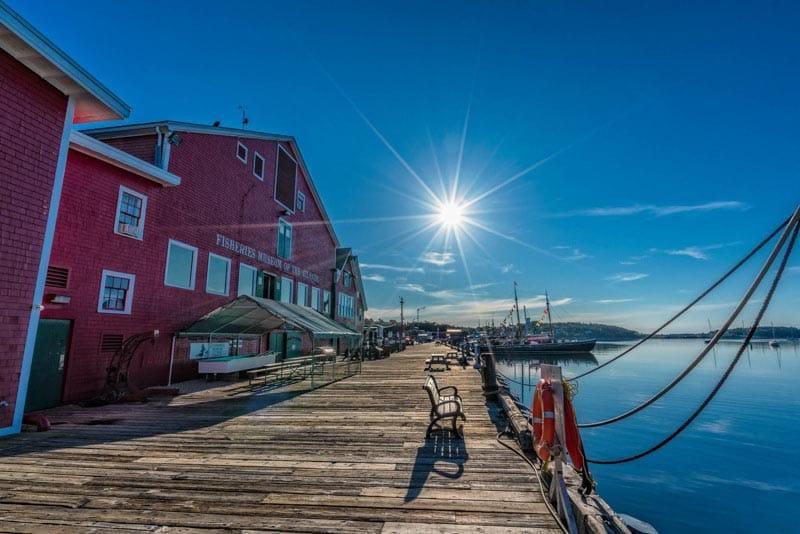 lunenberg fisherman's Museum | images of nova scotia