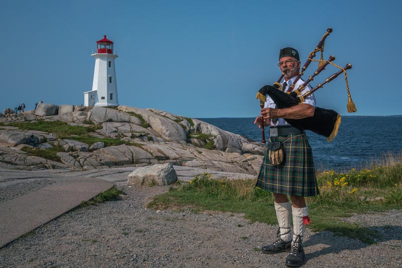 peggy's cove piper