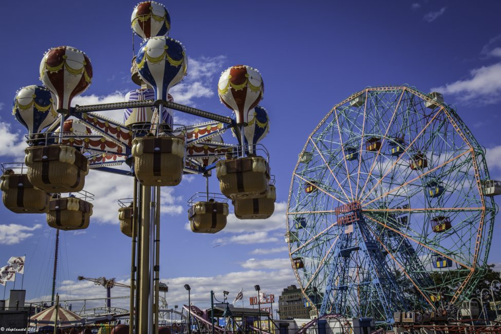 Checking out Coney Island