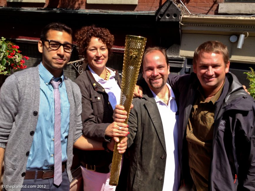 Inspiring canadian olympic torch bearers 2012