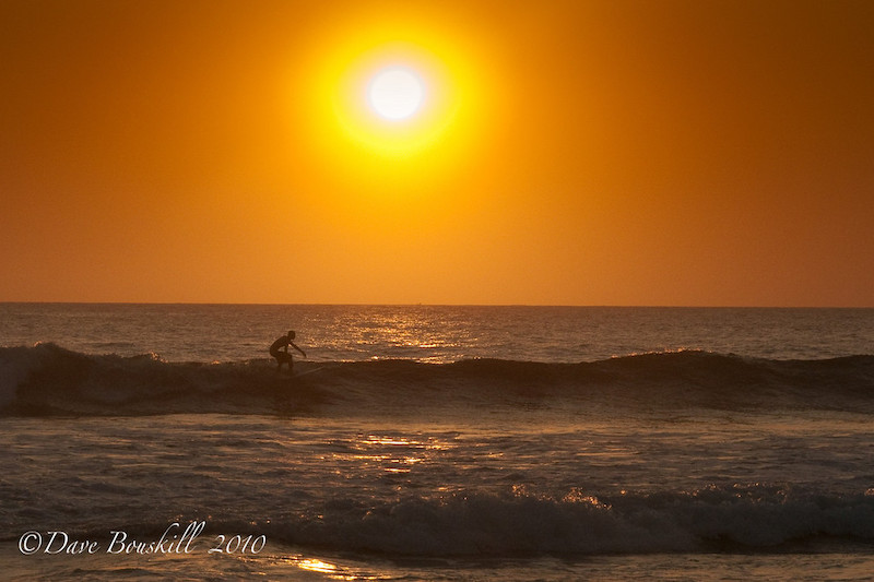 one sunset at a time surfing
