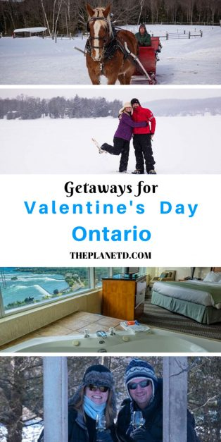 valentine's day getaways in Ontario Canada