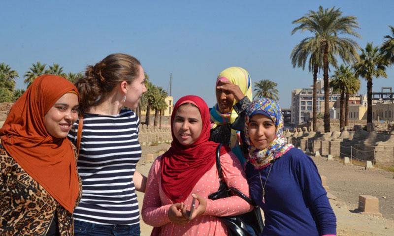egypt selfie