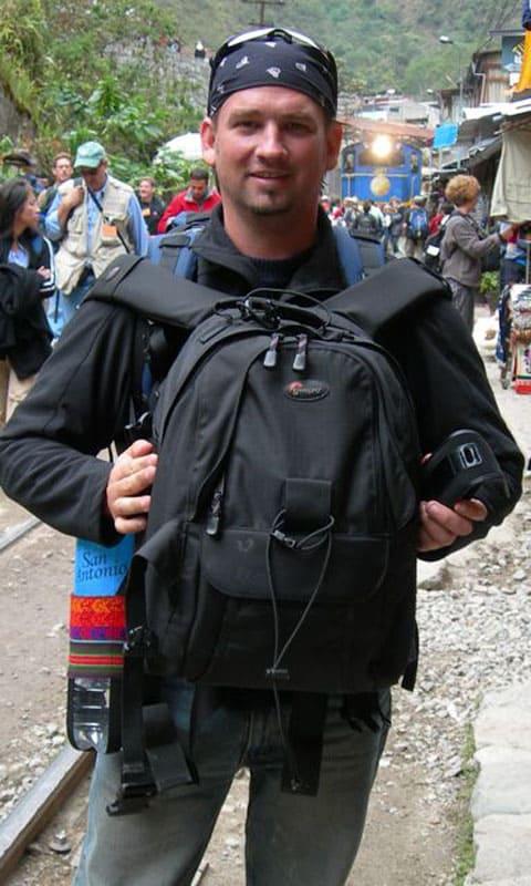 backpack travel