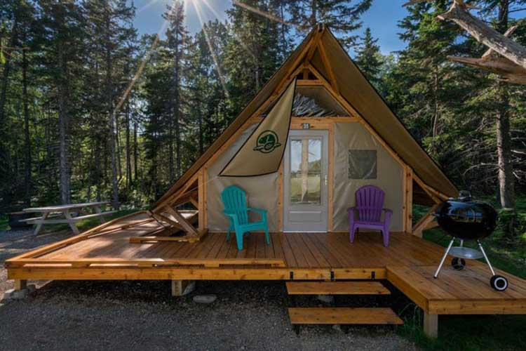 otentnik available for camping in ontario
