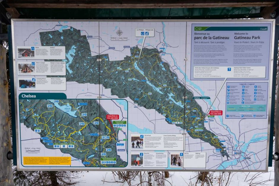Ski Trails at Gatineau National Park Ottawa Attractions