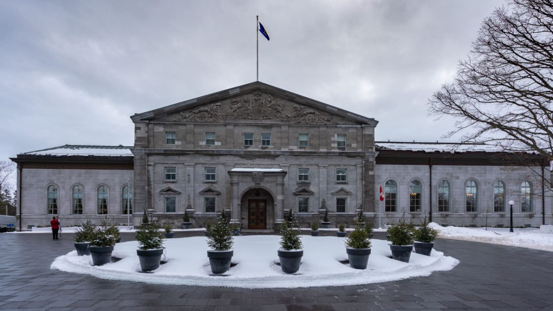 Visit Rideau Hall in Ottawa attractions winter