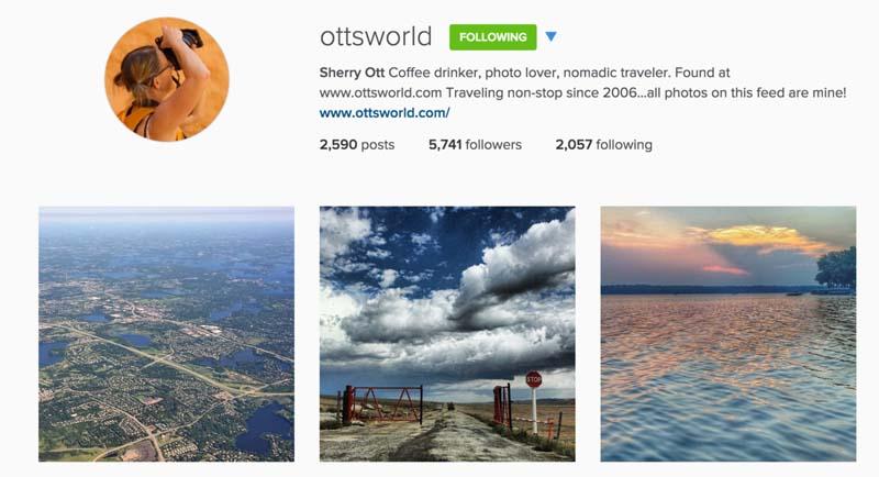 travel instagram photography ottsworld
