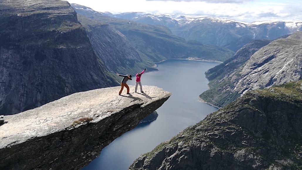 Trolltunga Fjord