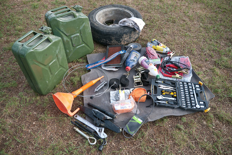 overland adventures tools