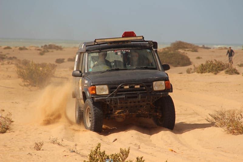 overland rally africa desert
