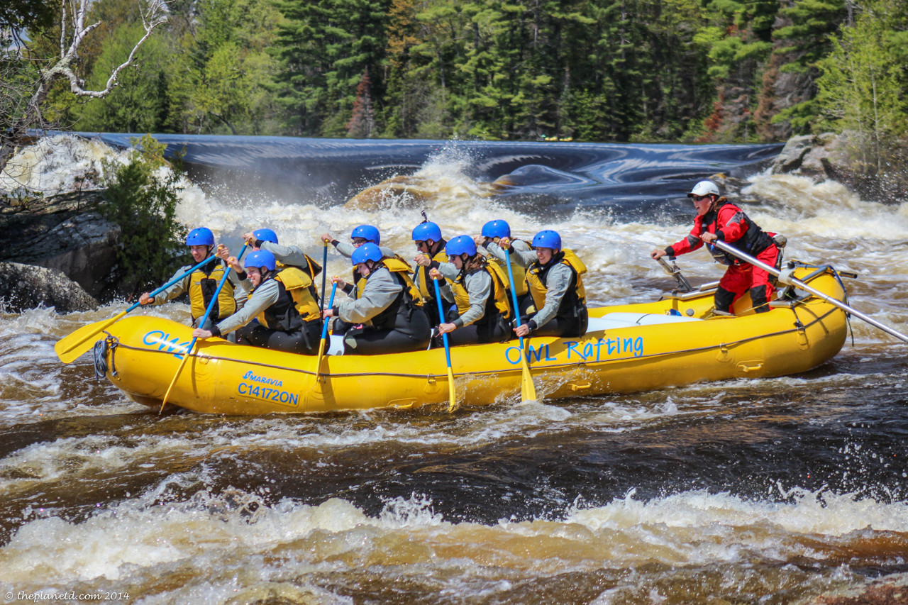 ottawa river whitewater rafting
