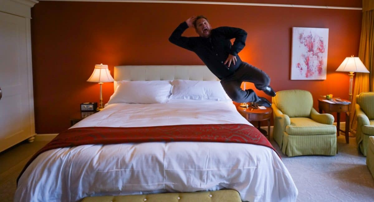 Dave was pretty excited about the Bruce Hotel.