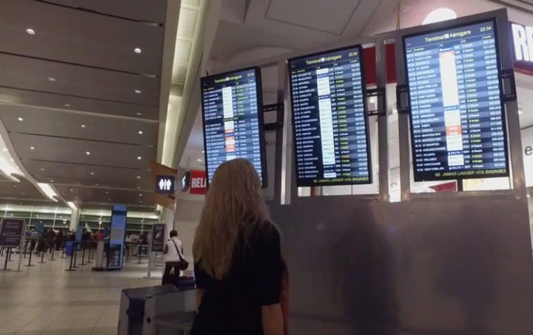 deb at the airport | packing lists tips