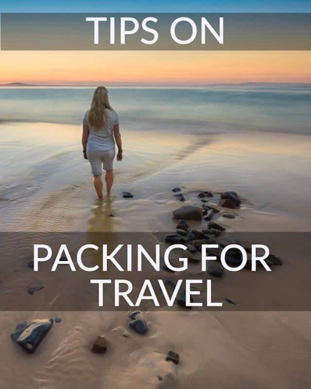 packing tips for travel