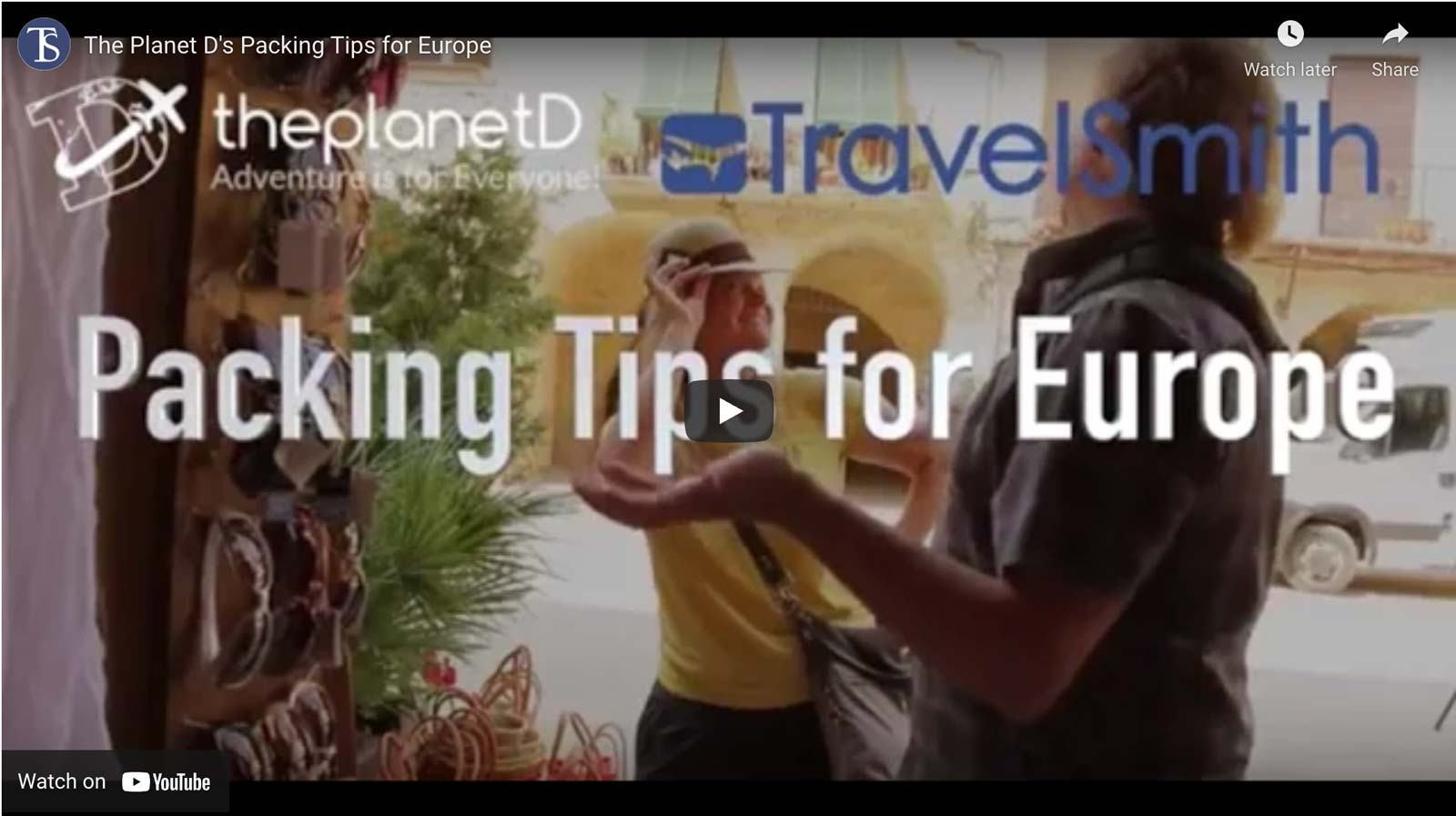 packing tips for europe