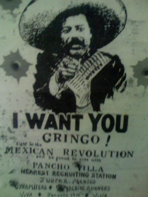 most wanted poster pancho villa