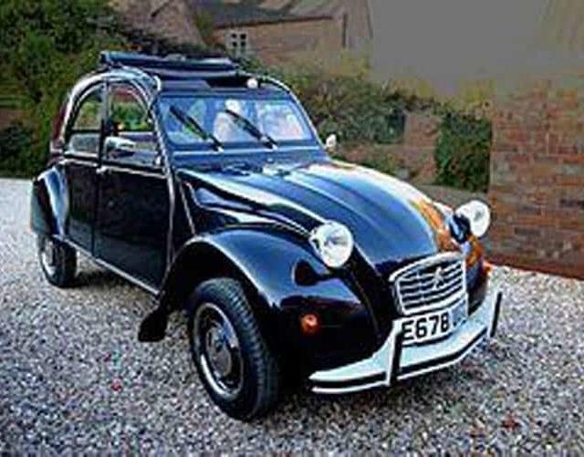 vintage car tour paris