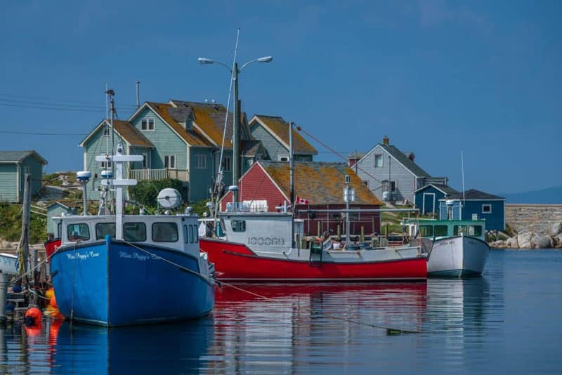 peggys cove nova scotia boats