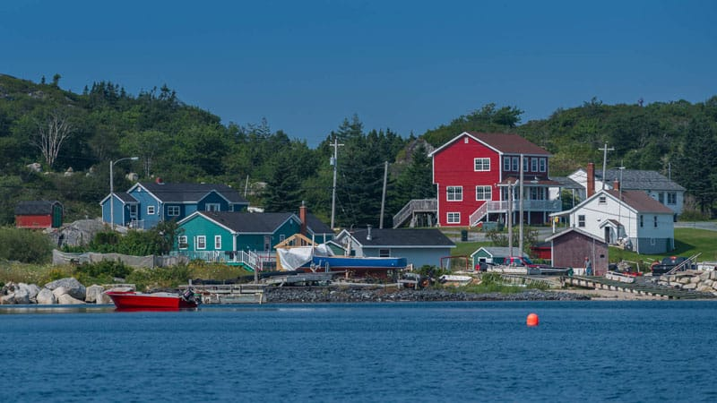 peggys cove town