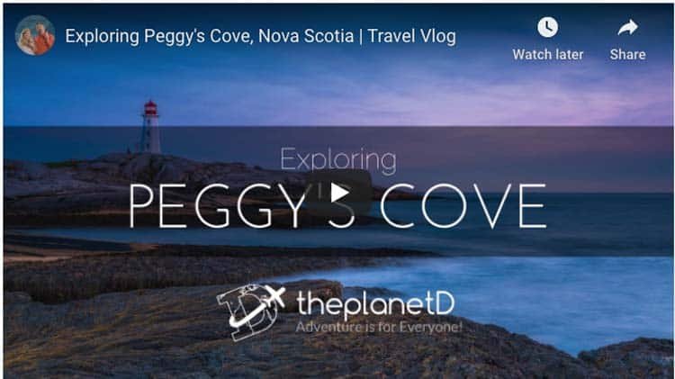 peggy's cove video