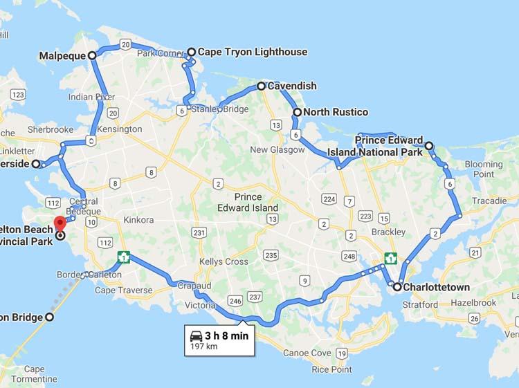 prince edward island coastal driver