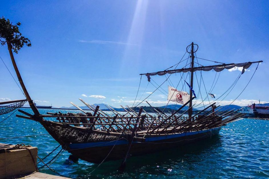 jason and the argonauts ship in volos greece