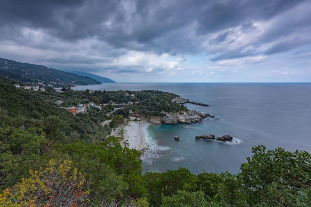 pelion greece view