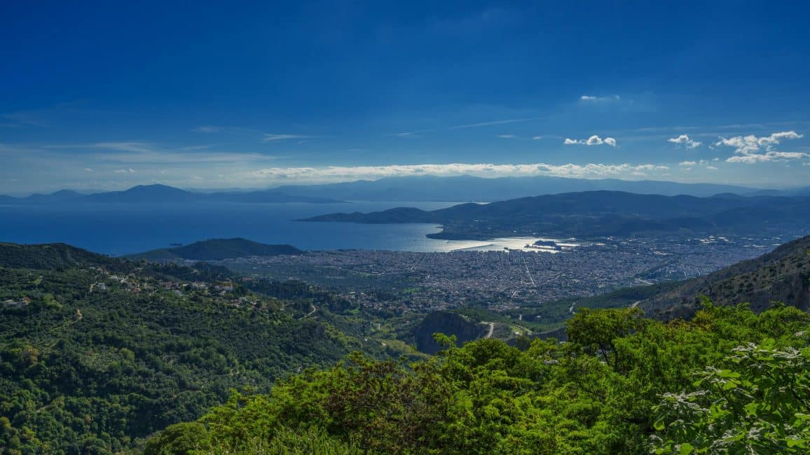 Pelion Greece  city images : pelion greece view from lookout