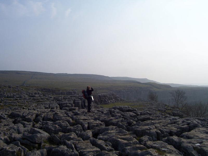 hiking in england the pennine way malham