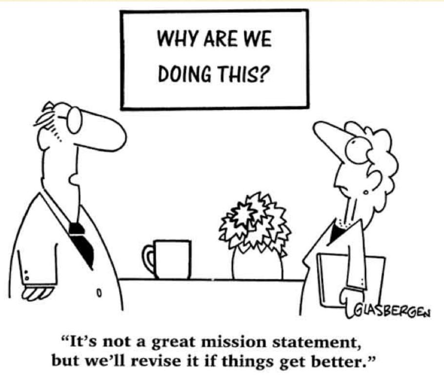 mission statement online brand