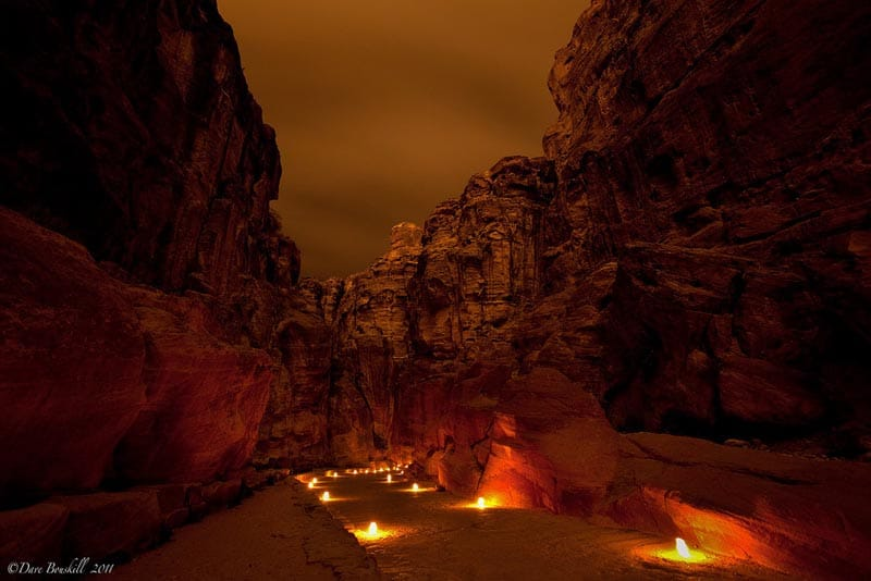visit petra by night