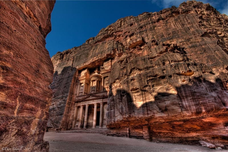 petra treasury horizontal