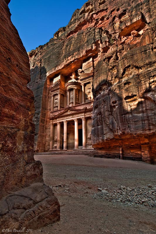 petra treasury different view