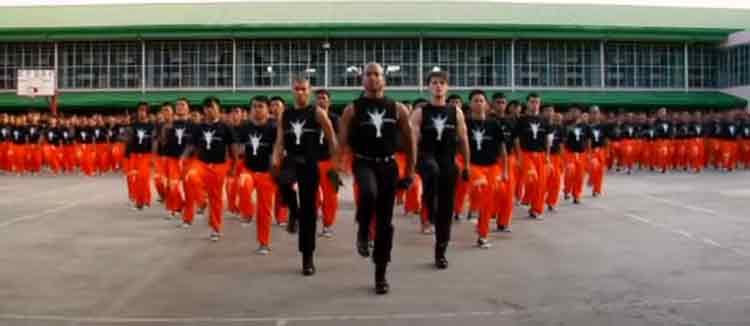 dancing inmates philippines