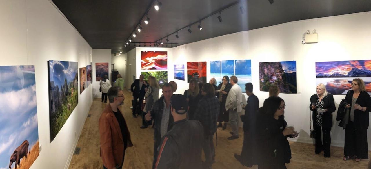 Fine Art Photography Exhibition Closing Gala - Mountains to the Sea