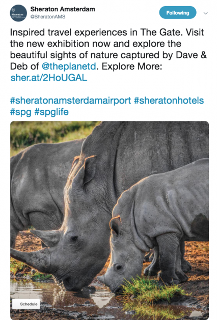 sheraton photography gallery