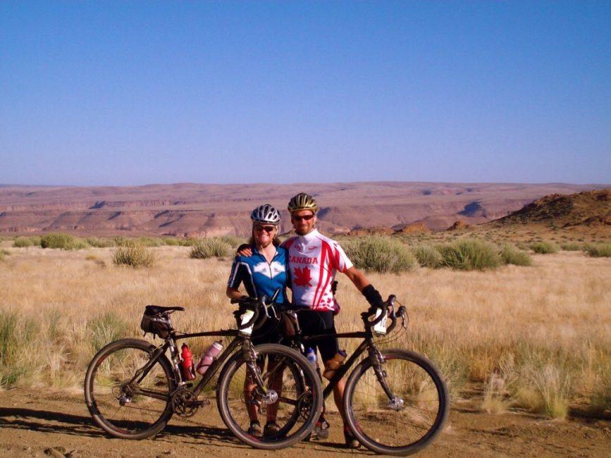 Beautiful scenery in Namibia