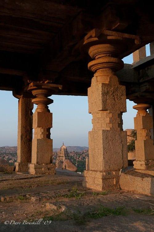hampi temple view