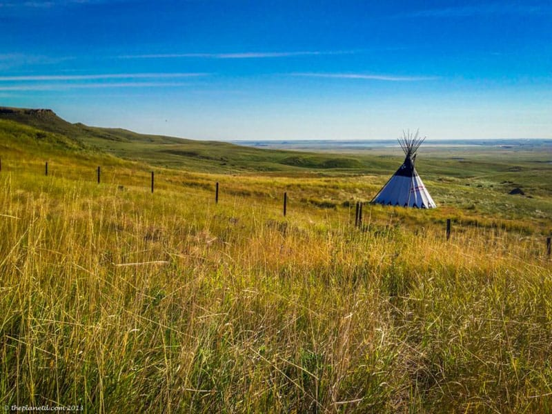 pincher creek teepee
