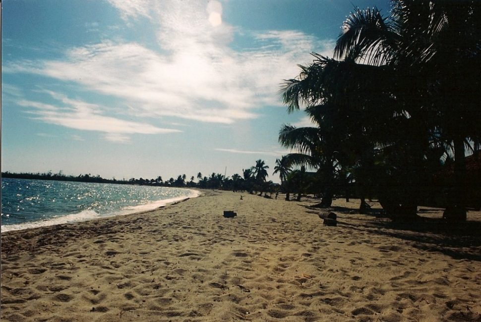 Beach in Placencia