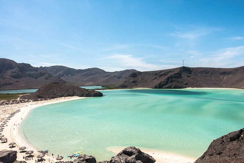 where to visit in mexico - Balandra Beach